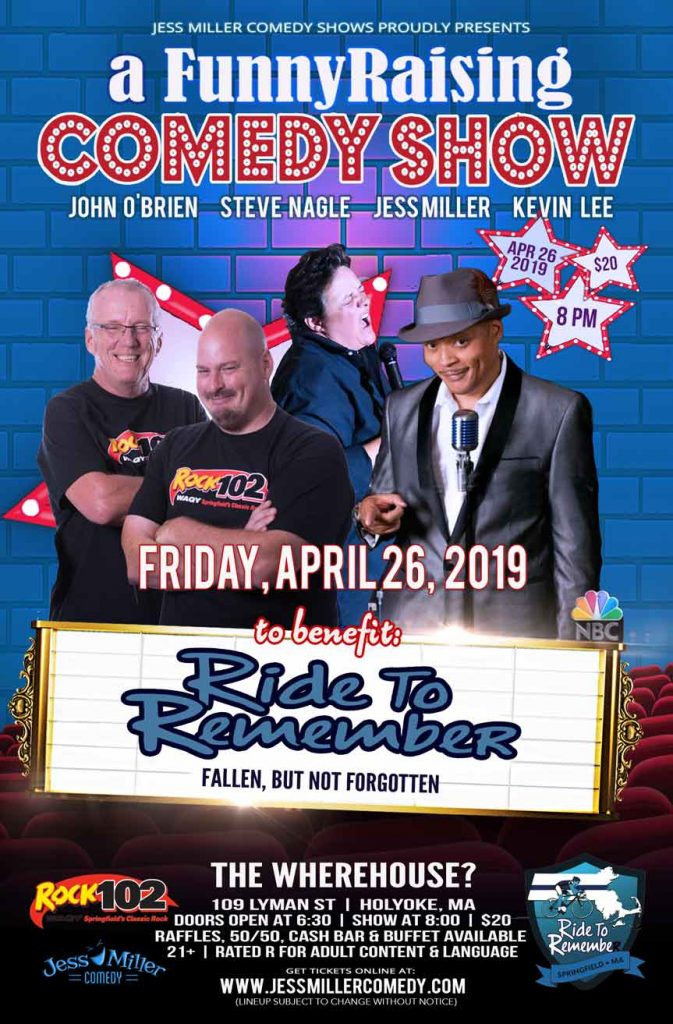 Comedy Night Fundraiser: Ride to Remember